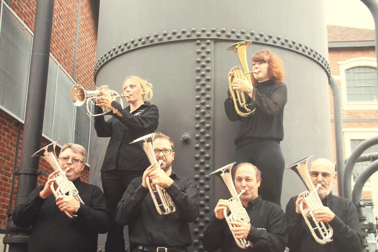 Les musiciens du brass